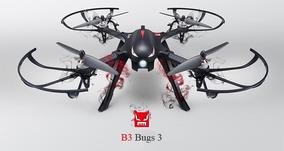 Drone Mjx B3 Bugs 3 Brushless Esc 3d Quadcopter Rtf P.entre
