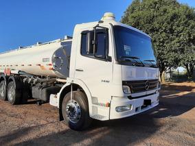 Mercedes Benz Mb Atego 1418 Truck 6x2 Tanque De Combustivel