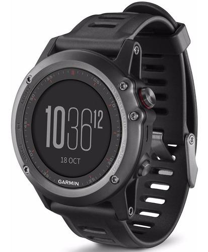 Imagen 1 de 10 de Garmin Fenix 3 Correa Silicona Sin Hrm Gps Smartwatch Negro