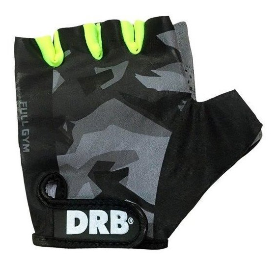 Guantes Ciclismo Corto Drb Con Gel Training Full Gym Spinnin