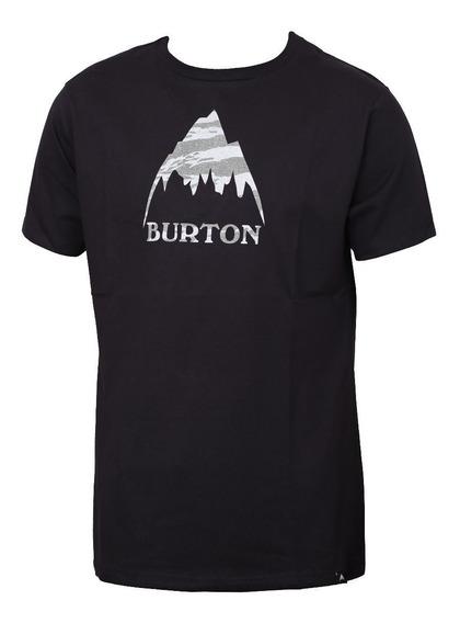 Remera Manga Corta Burton Classic Mountain