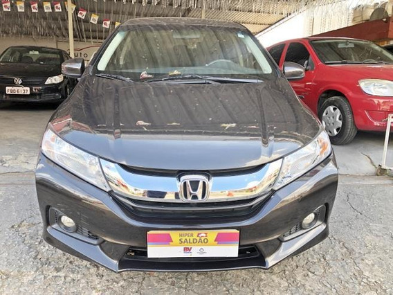 Honda City Elx 1.5 Flex Cvt Impecável Top De Linha
