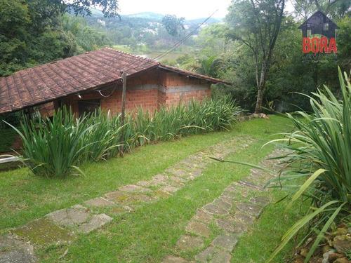 Chácara Com 2 Dormitórios À Venda, 1300 M² Por R$ 270.000,00 - Jaboticabeiras - Mairiporã/sp - Ch0370