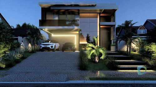 Casa À Venda, 340 M² Por R$ 2.100.000,00 - Alphaville - Ribeirão Preto/sp - Ca1822