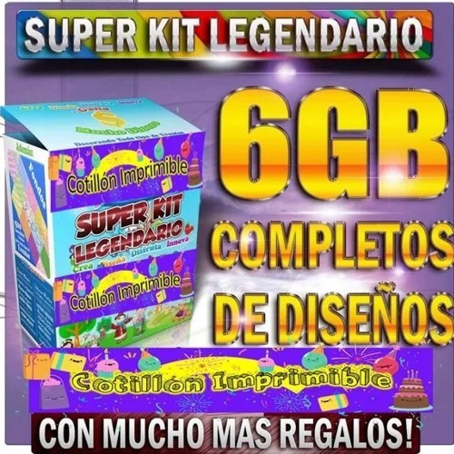 Kit Imprimible Empesarial Legendario!!!