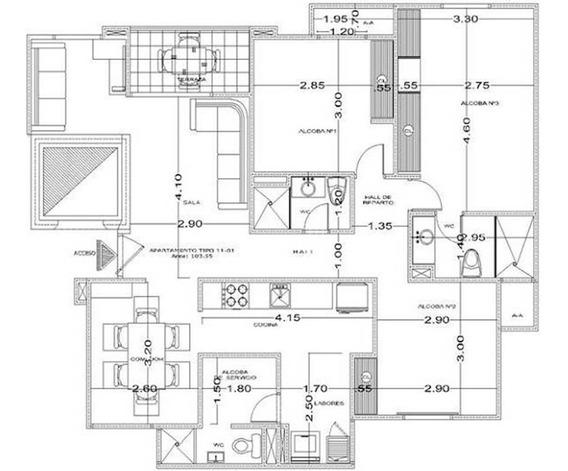 Se Vende Apartamento En El Corredor Universitario