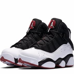 3dbd0da8f82 ... Black Couro Basquete Nba 13. Rio de Janeiro · Tênis Nike Air Jordan 6  Vl Rings Original Feminino Bulls 13