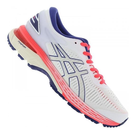 Tênis Running Asics Gel Kayano 25 1012a026 Feminino Branco