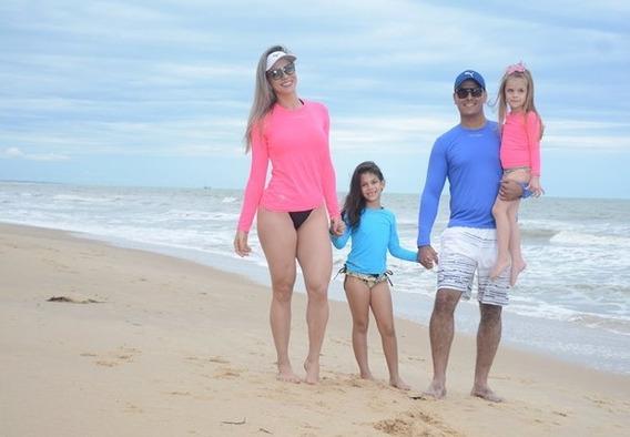 Camisa Infantil Proteção Uv Solar Fator 50 Térmica Promoção