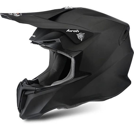 Casco Airoh Twist Moto Cross Enduro Negro
