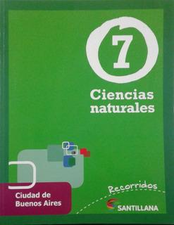 Ciencias Naturales 7 Caba Recorridos - Santillana *