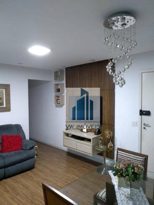 Apartamento Com 3 Dormitórios À Venda, 83 M² Por R$ 449.000 - Vila Progresso - Guarulhos/sp - Ap0011