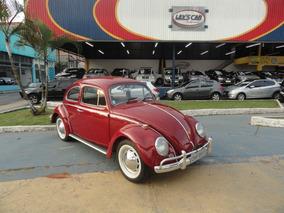 Volkswagen Fusca 1968 Vermelho Gasolina Manual 2p