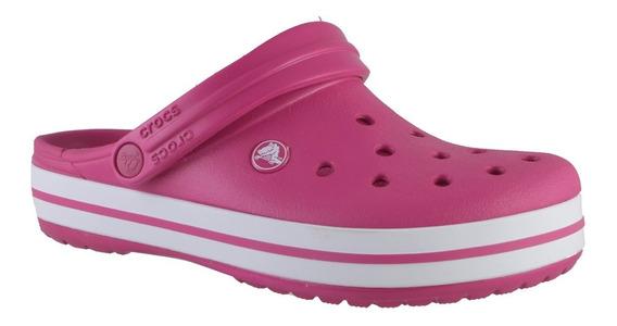 Crocs Crocband Mujer Rosa
