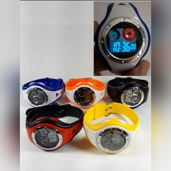 Relógios Infantis Digital Unissex - Resistente A Água