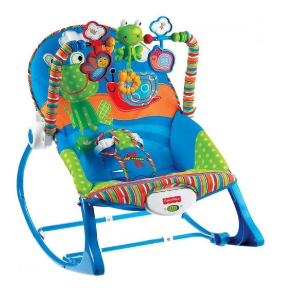 Cadeira De Descanso Musical Minha Infância Sapinho Fisher