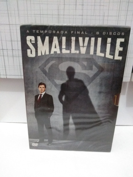 Box Dvd - Smallville - 10ª Temporada - 6 Discos - Lacrado