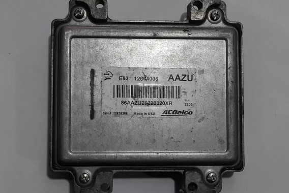 Modulo Injecao Gm - Agile, Montana 1.4 / E83 12644006 / Aazu