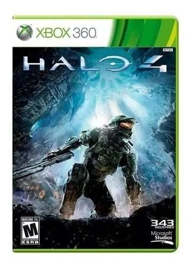 Jogo Halo 4 Xbox 360 Mídia Física Original Lacrado