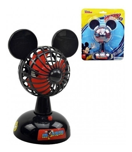 Mini Ventilador Infantil Potente Mickey Mouse Disney