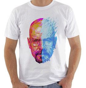 Camiseta Camisa Breaking Bad Walter White Heisenberg #1