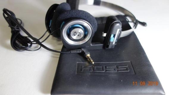Koss Porta Pro Fone De Ouvido Headphone + Bag + Espuma Nova