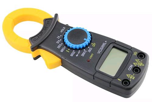 Pinza Amperimétrica Con Multímetro Integrado Económico