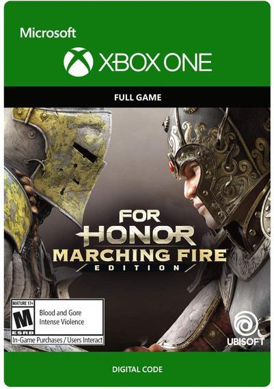 For Honor Marching Fire Edition Xbox One Codigo 25 Digitos