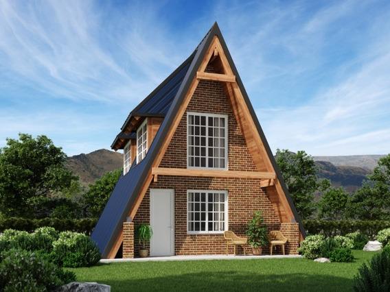 Casa Nueva 32 Mts2 Invertí En Pesos Y Capitaliza En Dolares