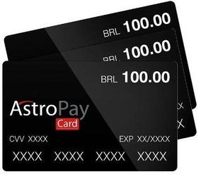 Cartão Card Astropay Brl 50