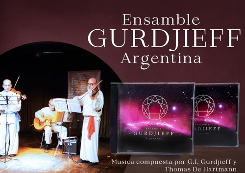Cd Ensamble Gurdjieff Argentina