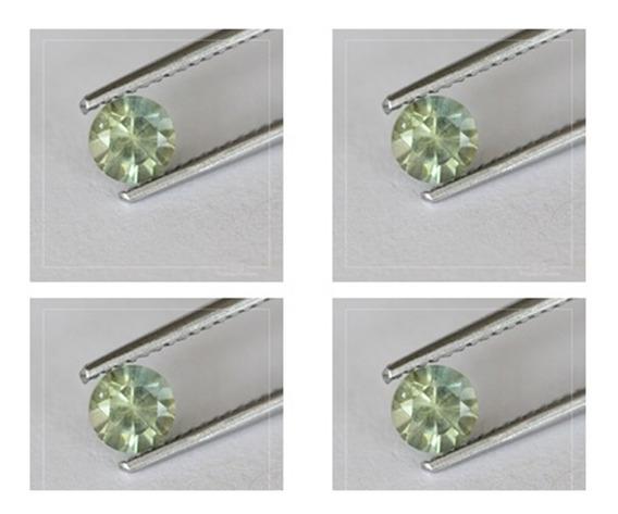 4 Diamantes Amarillo Lima 100% Naturales