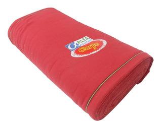 Franela Roja Carpe Rollo De 25metros X 50cm Ancho