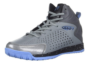 Tenis Basquet Hombre And1 Tipoff Basketball Original Gris.