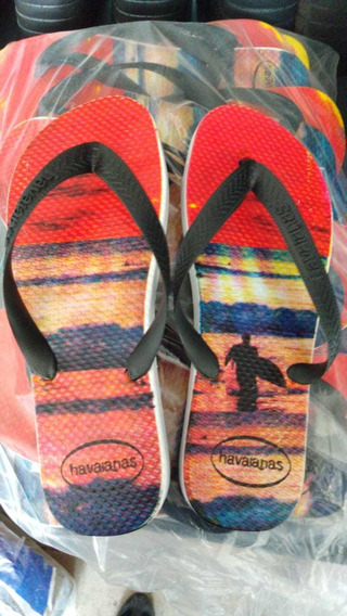 Kit Chinelo Havaianas Masculino Estampadas 20 Pares