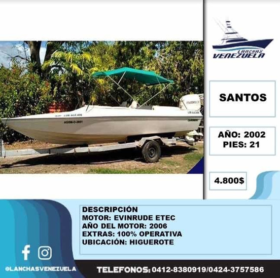 Lancha Santos 21 Lv96