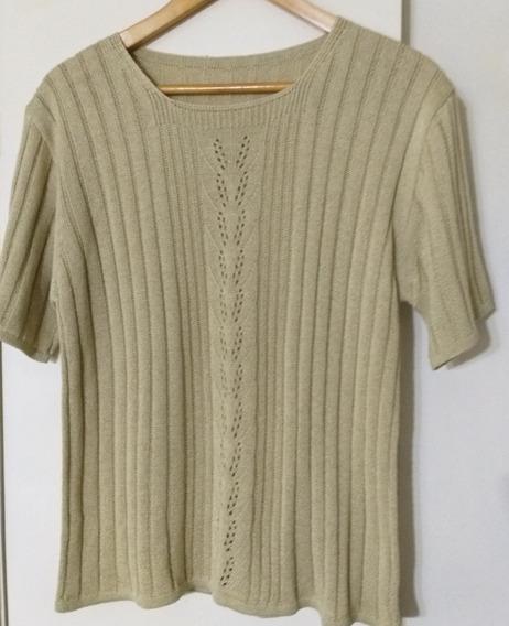 Sweater Hilo Mujer Sin Usos Primavera Lage Crema