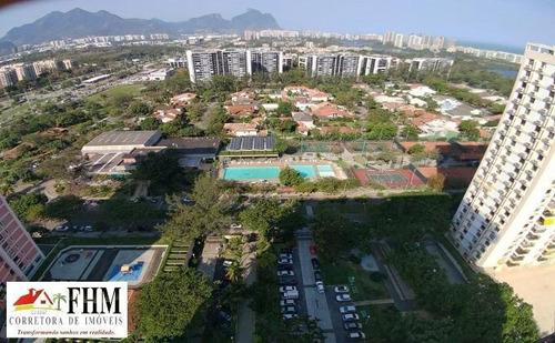 Imagem 1 de 15 de Cobertura Para Venda Em Rio De Janeiro, Barra Da Tijuca, 3 Dormitórios, 1 Suíte, 1 Banheiro, 2 Vagas - Fhm5033_2-1188042