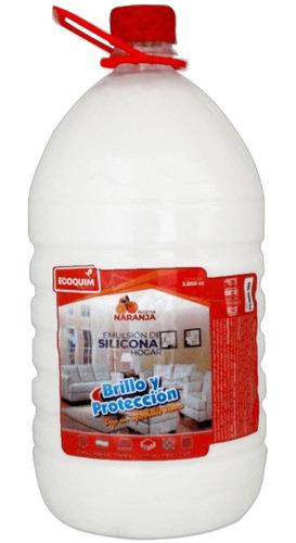 Silicona Emulsionada Brillo Y Limpieza - L a $10850