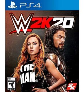 ..:: Wwe 2k20 ::.. Para Playstation 4 Disponible Ya