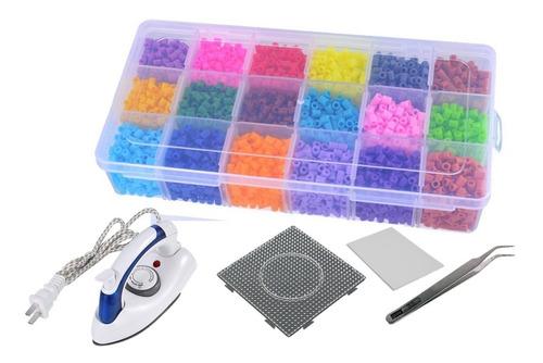 Set Estuche Hama Beads Colores Surtidos  Perler Midi