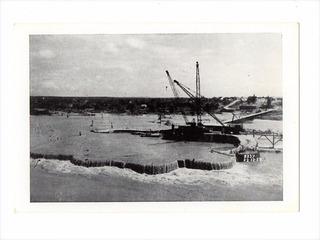 Cartao Postal Tipografico Enchente S. Francisco Paulo Afonso