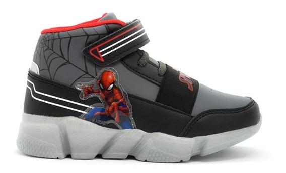 Zapatilla Bota Marvel Spiderman Casual Skater Mvl002 Asfl70
