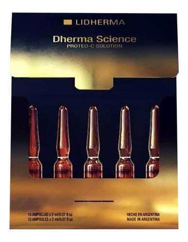 Dherma Science Proteo-c Solution 10 Unidades Lidherma