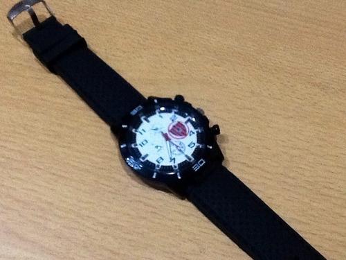 Chacarita  Reloj Deportivo Hombre Adulto