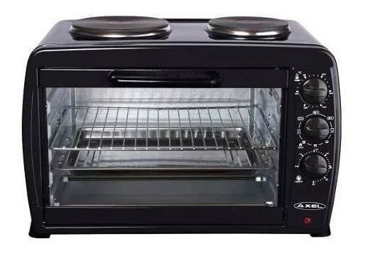 Horno Electrico Axel 45 L Doble Anafe Grill Parrilla