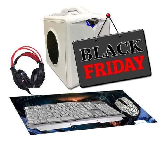 Pc Gamer Hector I3 R72402gb 8gb 500gb Ssd160gb Black Friday