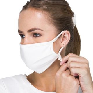 10 Máscara Em Tecido Proteção Respiratória Lavável