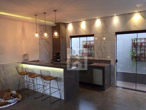 Imagem 1 de 20 de Casa Com 3 Dormitórios À Venda, 162 M² Por R$ 720.000,00 - Condomínio Guaporé - Ribeirão Preto/sp - Ca1062