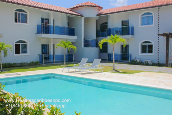 Cocotal For Rent Apartment 2 Bedrooms / 2 Bathrooms Garden View